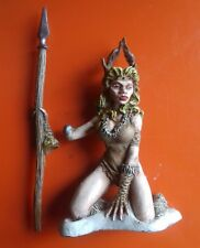 frost giant princess Grenadier fantasy lords giants female with spear