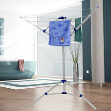 Rotary Washing Line Clothes Airer Rack Adjustable Foldable Laundry 4 Arm Style