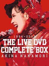 Akina Nakamori The Live DVD Complet Boîte Japonais Diva Pop Fast Ship Japon Ems