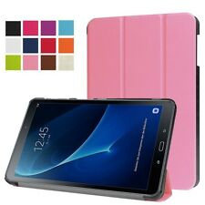 Funda protectora Smart para tablets accesorios de Fun da tapa Samsung Galaxy Tab a 10.1 T580 / T585 2016 Rosa