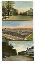 5 1910- 1920's era Frankfort Indiana Postcards