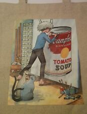 Andy Warhol Canvas Tote Bag Painting Campbell's Tomato Soup by James Warhola