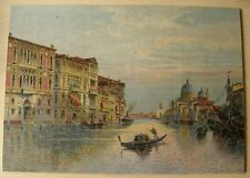Vintage/ANTIQUE Parker Pastime 535pc wooden jigsaw puzzle 'Venice' ~ Complete