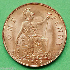 1935 George V Penny UNC Uncirculated SNo40745