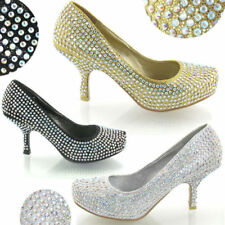 Essex Glam Evening & Party Court Heels for Women