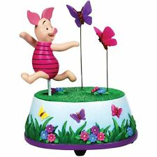 Piglet Butterfly Chase Animated Musical Figurine from Winnie the Pooh Westland