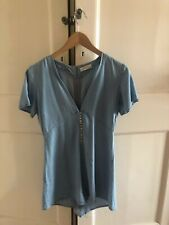 Zara Blue Premium Denim Playsuit (perfect for summer/ holiday)