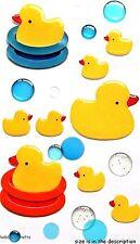 EK Success Jolee'S BOUTIQUE STICKERS 3D-bathtime bulles époxy duckies en caoutchouc