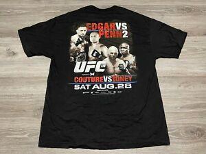 2010 UFC 118 Edgar VS Penn 2 Ultimate Fighting Championship T-Shirt Size XL