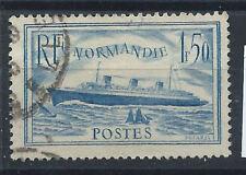 """France N°300b Obl (FU) 1935/36 - Paquebot """"Normandie"""" (bis)"""