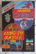 Karate Champ & Kung-Fu Master For Commodore 64/128 NEW FACTORY SEALED, Data East