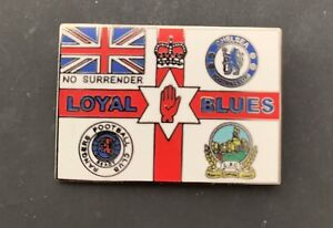Linfield fc Blues brother's badge