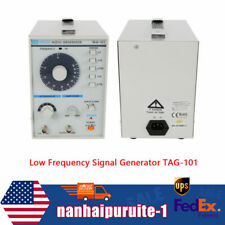 10hz 1mhz Low Frequency Audio Signal Generator Signal Source Withpower Cord Amp Clip