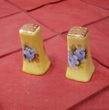Salt and Pepper Shakers set Made in Japan Ceramic