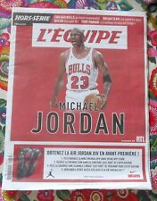 """spécial """"L'EQUIPE"""" Michael JORDAN // 40 pages sur la star NBA // COLLECTOR"""