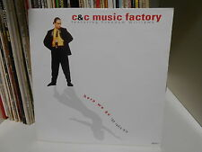 "C&C MUSIC FACTORY "" HERE WE GO"" 7 1991 COLUMBIA UK  EX+"