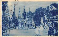 BR62464 burma pagode shoe dagon zu rangoon gebefsschreine Myanmar