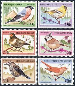 Benin 994-999,MNH.Michel 957-962. Songbirds,1997
