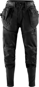 FRISTADS 2687 SSL CRAFTSMAN JOGGERS WORK TROUSERS WITH HOLSTER POCKETS SLIM FIT