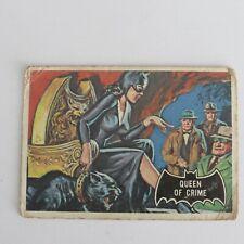 1966 A&BC Batman Black Bat #25 Queen of crime Printed in Canada