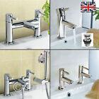 Modern Gladstone Bathroom Sink Taps Bath Filler Shower Mixer Chrome Basin Tap