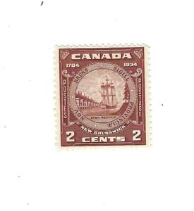 Canada 1934 New Brunswick Seal  #210 MNH VF