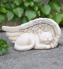 Cat Memorial Angel Wing Until We Meet Again Pet