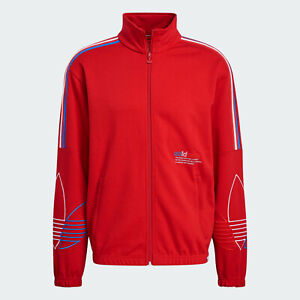 adidas Originals Adicolor FTO Track Top with retro style red