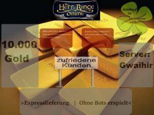 HDRO / LOTRO Herr der Ringe Online Gold  10.000 Gold Gwaihir *Expresslieferung*