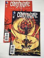 Constantine  The Hell Blazer # 8 & 9 2 Comic Lot DC Comics 2016 VF/NM