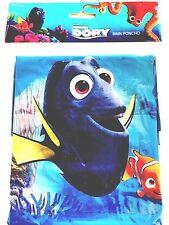 Disney Youth Finding Dory Nemo Blue Rain Poncho Raincoat Keep Dry