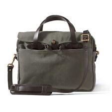 Filson Rugged Twill Original Briefcase (Otter Green)