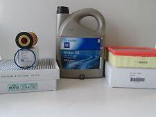 Opel Meriva B 1,4 Ölwechselset Inspektionspaket1 Luftfilter Pollenfilter 5W30 Öl
