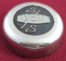 Cragar Wheels GZC Chrome Metal Custom Wheel Center Cap (1)