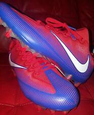 Nike Vapor Untouchable Pro Football Cleats 11 Red Blue White Bills 925423-404