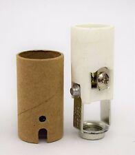 "Lamp Parts: (20) 2"" Porcelain Candelabra High Heat Sockets w/Insulator"