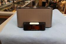 Sony Dream Machine AM/FM Clock Radio iPod 4 Docking Station - Black/Gray