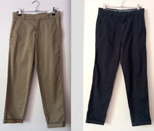 Uniqlo Navy and Beige Pants Size S - See Description