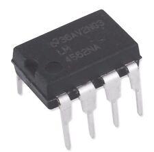 20PCS National Semiconductor LM4562NA LM4562 4562 Dual OpAmp DIP-8 - New IC