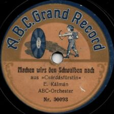 "78er Operettenschlager ABC-Orchester ""Joj Mamam"""