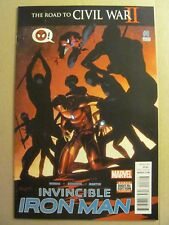 Invincible Iron Man #8 Marvel Riri William 2nd Print Variant 9.4 NM