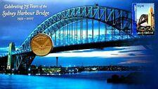 Australia Sydney Harbour Bridge 2007 Bulding Landmark (coin cover)