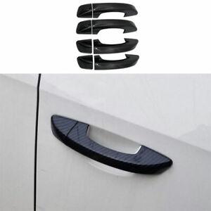 For Volkswagen Golf MK6 2010-2013 Carbon Fiber Exterior Outside Door Handle Trim
