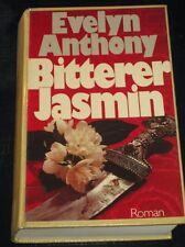 Evelyn Anthony - Bitterer Jasmin (Roman, gebunden, 1978)