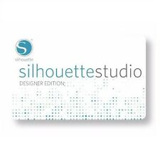 Silhouette Studio Designer Edition Software License Key Card, SILH-STUDIO-DE-3T