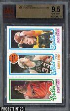 1980-81 Topps #98 Scoring Leader w/ Larry Bird Celtics HOF BVG 9.5