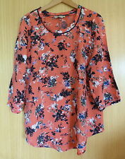 Per Una Blouse Scoop Neck Floral Tops & Shirts for Women