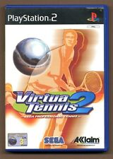 Virtua Tennis 2 - Sega - PS2, Playstation 2 - Verified Error Free