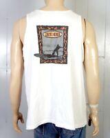 vtg 90s CS Surf single stitch North Shore Surfing Tank Top T-Shirt skate sz XL