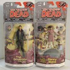 McFarlane Toys - The Walking Dead Set of 2 - The Governor & Penny Blake (2013)